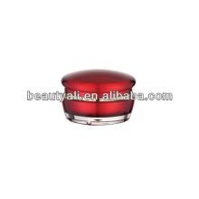 15ml 30ml 50ml Mushroom Cosmetic Acrylic Cream Jar