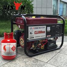 BISON (CHINA) Gas Power 2kw CNG Gerador de Energia Gás Natural Comprimido Gerador CNG