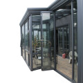 Glass Prefab House Patio Roofing Free Standing Sunroom