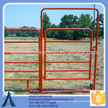 Paneles de carril ovalados galvanizados (clavijas incluidas) paneles de corral para ganado