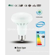 Dimmable LED refletor bulbo R80-Sbl