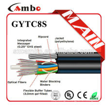 UV protected With Steel Corrugated tape submarine fiber optic cable