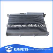 Aluminium Profiles Custom Extrusion Mechanical Heat Sink Parts