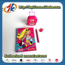 Small Plastic Luggage and Stationery Set Toy for Sale