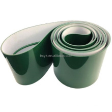 PVC conveyor belt price smooth surface green for food industry