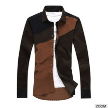 New Style Combed Cotton Latest Fancy Dress Shirts for Men