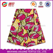wholesale new style African fabric polyester super wax print fabric