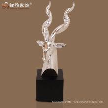 polyresin animal theme antelope decor for house ornament