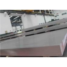 Plaque en alliage d'aluminium pour camion citerne