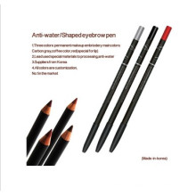 Anti-agua, lápiz de maquillaje de larga duración para maquillaje permanente (ZX)