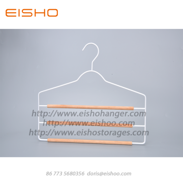 EISHO Slim 3 Layer Metal Trouser Hanger