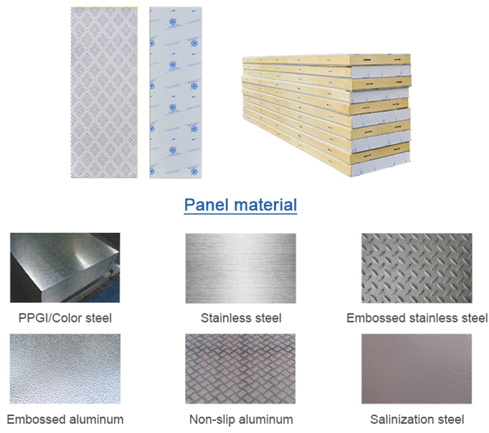 sandwich panels for cold room