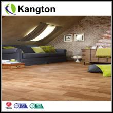 Embossed Lvt Wood Grain PVC Flooring (Wood grain PVC flooring)