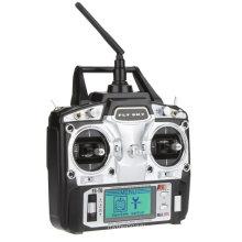 Original Flysky FS-T6 High Precision 2.4GHz 6CH Mode 2 Transmitter W/Receiver R6-B for rc airplane 2.4ghz transmitter
