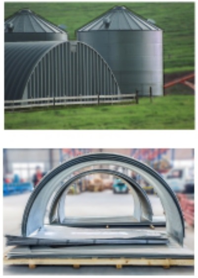 Curving Equipment for Silos Panel
