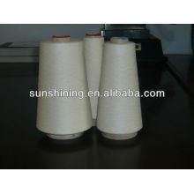100% 16S / 1 fil de viscose fil brut blanc