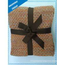 Synthetic Wool Bedcover Throw Blanket