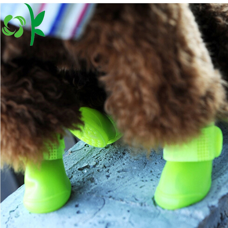 Greeb Silicone Dog Shoes