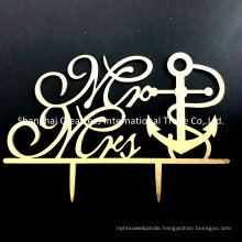 Mr and Mrs Acrylic Engagement Cake Topper Suppliers