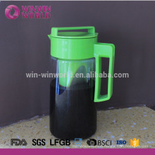 Customized Color And Logo BPA Free Tritan Ice Tea Coffee Pitcher 2 Litre
