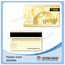 Plastic Chip Cards/Magnetic Stripe / Embossed Number Cards