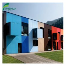 Waterproof HPL Wall Panel Outdoor Decoration Exterior Wall Cladding