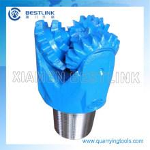 Broca de acero del diente del rodamiento de rodillos Bit para el agua Welling