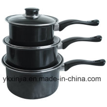Aluminium Carbon Steel Non-Stick Sauce Pan Cookare Set