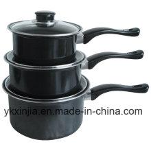 Aluminum Carbon Steel Non-Stick Sauce Pan Cookare Set