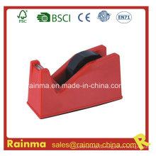 Red Medium Plastic Tape Dispenser