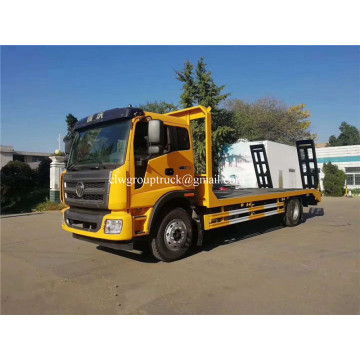 Foton 0 degree flatbed towing wrecker tow truck