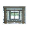 Puerta de vidrio de inducción automática comercial