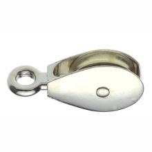 Metall Hardware Hochwertige Riemenscheiben Starres Auge mit einem Rad