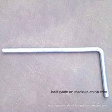 Livestock Headlock Accessories Piezas de metal Machine Parts