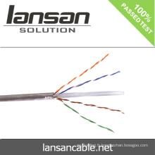Lansan utp cat6 câble de câble 4p câble 305m 23awg BC pass didactique bonne qualité et prix d'usine