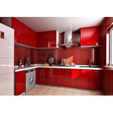 Cabinet de cuisine en bois massif Hot Sale Green Village