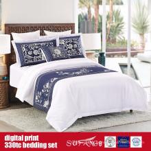 Láminas de impresión digital de algodón 60S 330TC 173 * 156