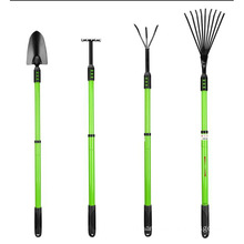 wholesale garden tools set retractable garden  rake and garden shovel with Lawn Rake,  Weeding rake ,Leaf Rake