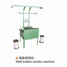 Weft bobbin winder for weft
