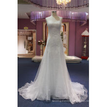 Mermaid Lace Evening Gown Bridal Wedding Dress
