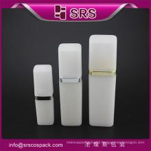 SRS free sample 50ml 120ml cosmetic PP white plastic lotion spray bottle