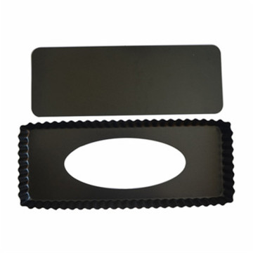 Rectangle Tart Baking Removable Bottom Cake Pan