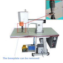 Ultrasonic Fabric Trimming Machine untuk Nonwoven Bags