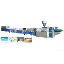 Máquina de plástico máquina de producción de Perfil de PVC WPC