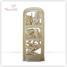 43*8cm Foldable Plastic Clothed Hanger