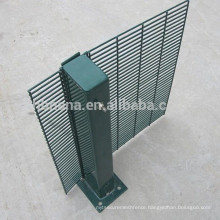 Hot-dipped galvanized powder coated high Security 358 Anti-climb Fence for prison