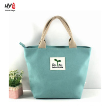 High-end nice looking canvas tote bag