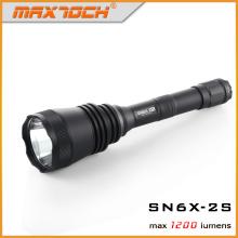 Maxtoch SN6X-2 de largo alcance caza Flashligt 2 * 18650 batería LED luz de la antorcha