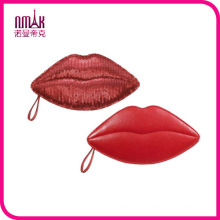 Kiss Pouch Lip-Shaped Pouch Cosmetic Bag Make-up Pouch Multi-Purpose Cute Bag