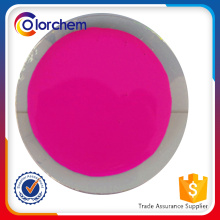 Fluorescent Pigment for coating, textile printing